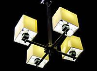 Люстра на 4 лампы с абажурами акция 6012/4 А,В, фото 1