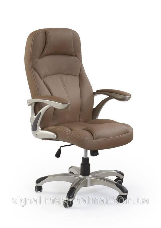 Комп'ютерне крісло CARLOS (світло-коричневий) (Halmar)