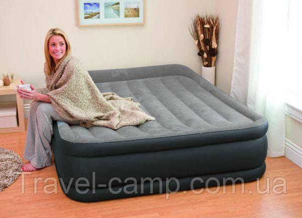 Надувна двоспальне ліжко INTEX - 64136