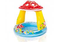 Надувной детский бассейн Интекс 57114 ГРИБОЧЕК