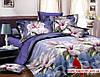 Комплект 3D постельного белья 2-спальный евро Розовые Розы - Фото