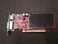 НИЗКОПРОФИЛЬНАЯ ВИДЕОКАРТА Pci-E RADEON X 1550 на 128 MB с ГАРАНТИЕЙ ( видеоадаптер X1550 128mb  )