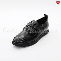 Женские туфли с двумя ремешками и клёпками, фото 1