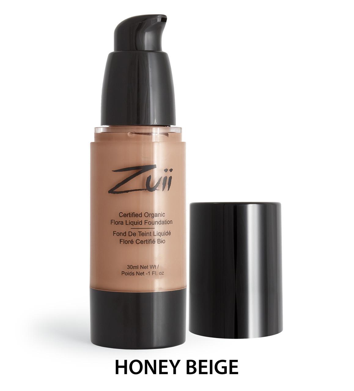 Жидкая тональная основа Honey Beige Zuii Organic