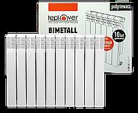 500/80 Биметаллический радиатор 10 секций TEPLOVER, фото 1