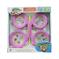 Барабан 2214A бабочка розовый