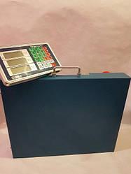 Весы торговые беспроводные до 300 кг (42х52 см)