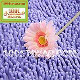 """Набір з 2-х килимків з мікрофібри """"Макарони або дреди"""" для широкого застосування, 80х50 см і 35х50 див., фото 4"""