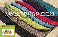 """Набор из 2-х ковриков из микрофибры """"Макароны или дреды"""" для широкого применения, 90х60 см. и 45х60 см."""