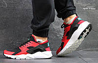 Кроссовки Nike Huarache (черно красные) кроссовки найк хуарачи nike 4656