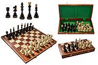 Шахматы резные деревянные India