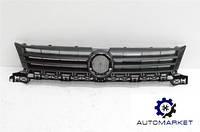 Решетка радиатора (под бампер тип TOURAN) Volkswagen Caddy 2011-2015, фото 1