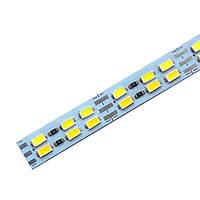 JLFK Светодиодная линейка JL 5730-144 led W/WW 3-pin 3500K-6500K, 12В, IP20 теплый белый/белый