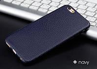 Прорезиненный чехол под кожу для iPhone 7/8, фото 1