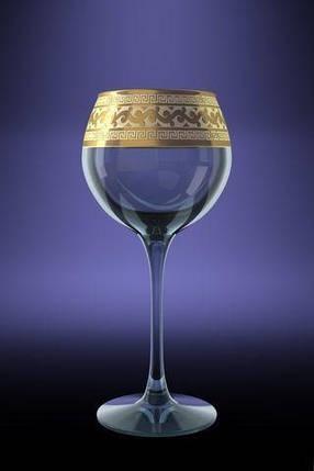 "Набор бокалов 280 мл для вина GE08-1688 ""Эдем"" рисунок ""Версаче"" 6 шт., фото 2"