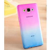 Силиконовый чехол для Samsung Galaxy A8 двухцветный (Цвет 2)