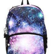 Рюкзак Mojo Галактика 2016 ( колір мульті з LED світло), фото 2