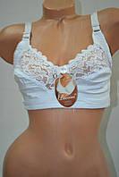 Бюстгальтер без поролона Leiccina чашка D Белый, фото 1