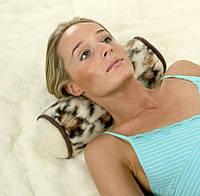Валик под голову из натуральной овечьей шерсти, фото 1