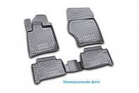 Коврики в салон SEAT Leon, 2012->, Typ 5F, 4 шт. (полиуретан) 3D
