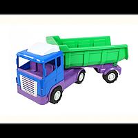 Автоскрепер, артикул 849, детская грузовая машинка, игрушка для мальчиков