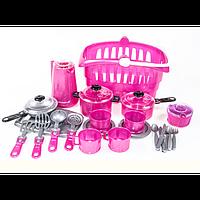 Набор посуды ИРИСКА 8 арт. 134, игрушечная посудка, детская посуда, игра