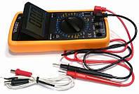 Цифровой тестер DT9208A, Мультитестер, Амперметр, Вольтметр, Прозвонка, Измерительный прибор напряжения