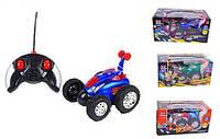 Машина H 0468-0498-0738-0558 радиоуправляемая, перевертыш, 4вида, свет, на бат-ке, машинка игрушечная, игрушка