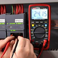 Цифровой мультиметр UT139C, Портативный тестер с функцией True RMS, Вольтметр, Амперметр, Измерительный прибор