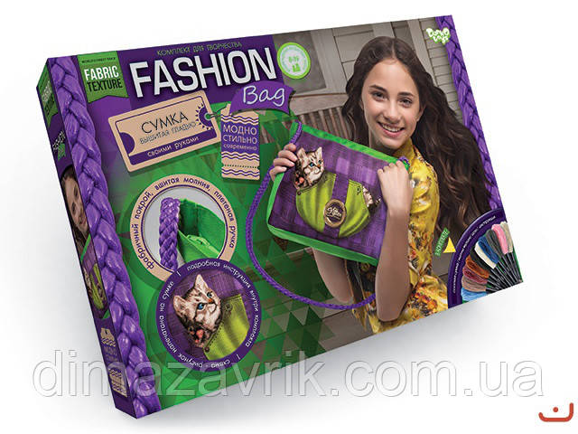 "Набор для творчества ""Сумка Fashion bag"" Danko Toys"