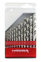 Набор сверл по металлу Haisser 13шт., (2-8мм)