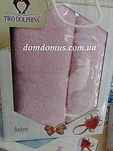"""Подарочный набор полотенец """"Asiya"""" TWO DOLPHINS, Турция 0191"""