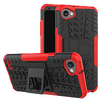 Чехол Armor для LG Q6 / Q6a / Q6 Plus / Q6 Prime Красный