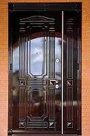 Двери двухстворчатые входные 2.20 x 1.20