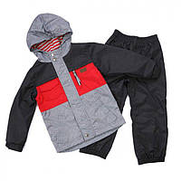 Демисезонный костюм на флисе для мальчика 3-4, 7-8 лет, р. 98-104, 122-128 ТМ Peluche&Tartine Chili 65 M S17, фото 1