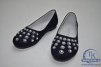 Garstuk туфли для девочки замшевые L192-H50 Размер:34,35,38