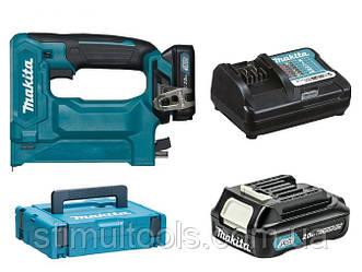 Аккумуляторный степлер Makita ST113DWAJ