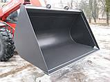 Ковш на погрузчик от 1.5м³, фото 4