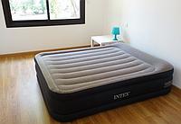 Двуспальная надувная кровать Intex 64136 + Встроенный насос