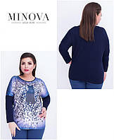 Туника женская большого размера   ТМ Minova (48-52), фото 1
