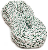 [100м] Верёвка статическая высокопрочная 10мм Sinew Soft белая