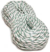 [50м] Верёвка статическая высокопрочная 10мм Sinew Soft белая