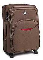 Малый чемодан-ручная кладь  на 2-х колесах Suitcase 1708 smile  новинка
