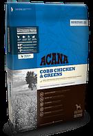Сухой беззерновой корм Acana COBB CHICKEN & GREENS (для собак всех пород и возраста), 340g (x30)