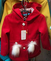 Детское пальто ткань кашемир , фото 1