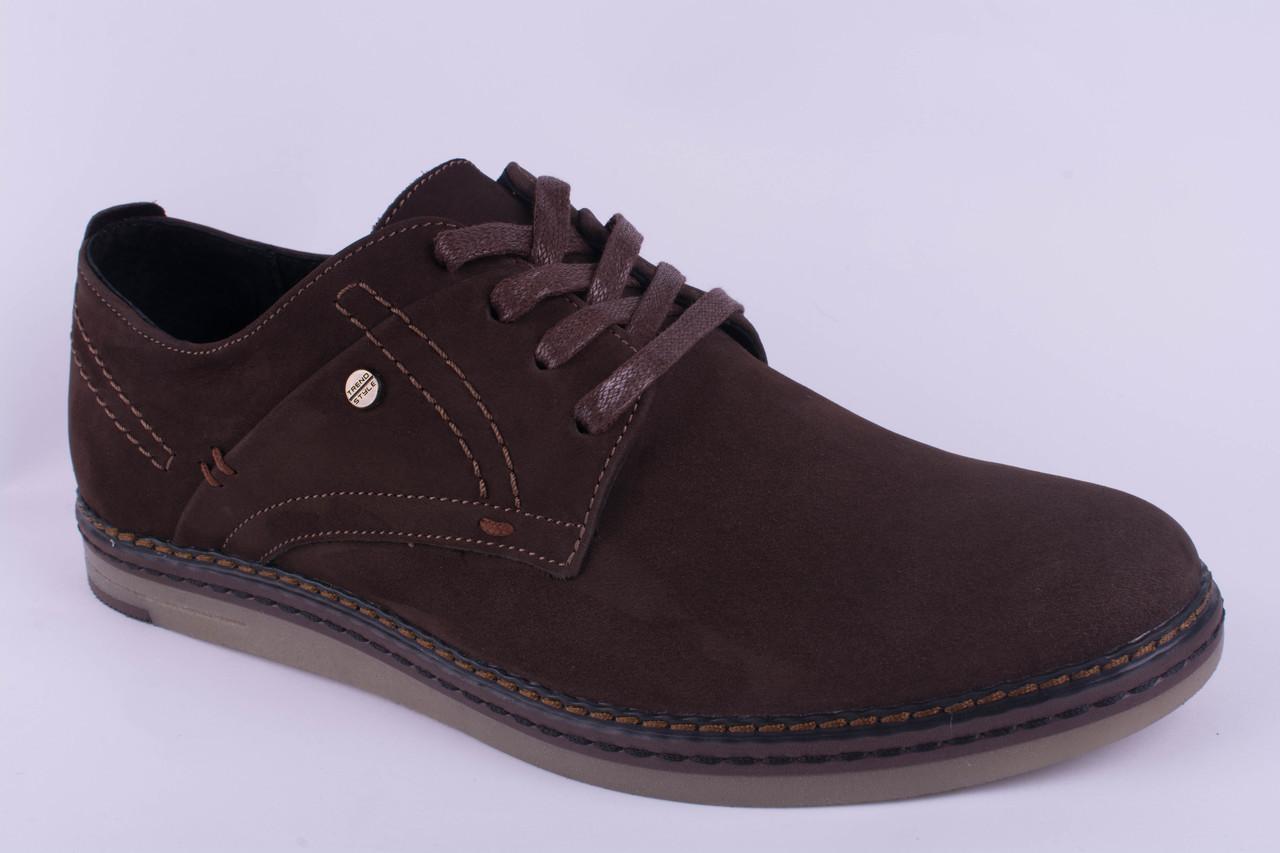 Мужские туфли замшевые коричневые 40, 41, 42, 43, 44, 45
