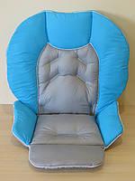 Чехол Chicco Polly 2 в 1 комбинированный голубой + серый