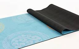 Коврик для йоги и фитнеса замшевый FI-5662-31, фото 2