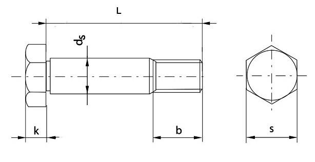 Болт М52 DIN 610 купить