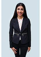 Женский пиджак жакет высокого качества черного цвета